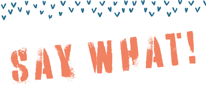 Say What - Illustration